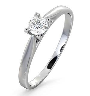 Engagement Ring Grace 0.25ct Lab Diamond H/Si in 18K White Gold