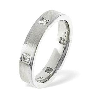Lauren  0.28CT H/SI Diamond and White Gold Wedding Ring