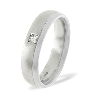 Lauren  0.08CT H/SI Diamond and White Gold Wedding Ring