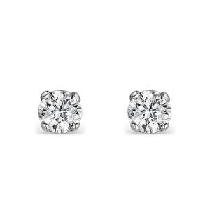 Diamond Earrings 0.10CT Studs Diamond 9K Gold