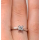 Certified Lauren 18K White Gold Diamond Engagement Ring 0.33CT-G-H/SI - image 4