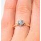 Certified Low Set Chloe 18K Gold Diamond Engagement Ring 0.75CT - image 4
