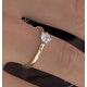 Lily Certified Lab Diamond Engagement Ring IGI 0.50ct H/SI1 18K Gold - image 4