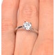 Engagement Ring Certified 1.00CT Petra Platinum E/VS1 - image 4