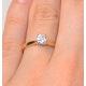Engagement Ring Certified Petra 18K Gold Diamond  0.50CT - image 4