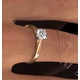 Engagement Ring Certified 0.70CT Petra 18K Gold  G/SI2 - image 4